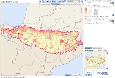 Atlas statistique des Pyrénées